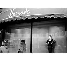 Harrod's Mannequin Photographic Print