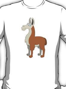 Friendly cartoon lama T-Shirt