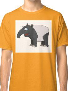 Happy cartoon coati smiling Classic T-Shirt