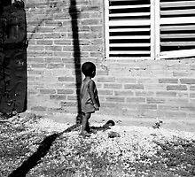 Cuban Child in Slums by Joe Williams