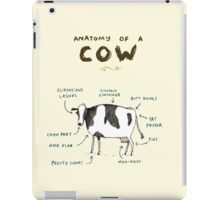 Anatomy of a Cow iPad Case/Skin