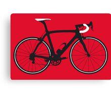 Bike Pop Art (Black & White) Canvas Print