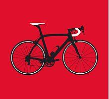 Bike Pop Art (Black & White) by sher00