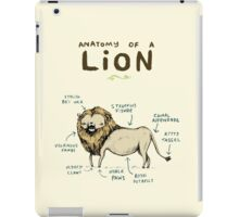 Anatomy of a Lion iPad Case/Skin