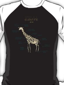 Anatomy of a Giraffe T-Shirt