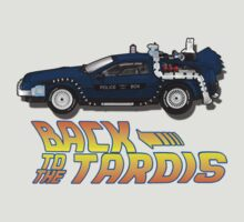 Nerd things - tardis delorean mash up by noisemaker