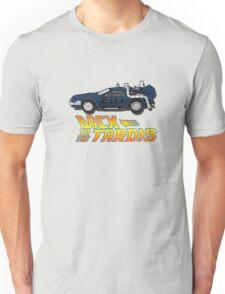 Nerd things - tardis delorean mash up Unisex T-Shirt