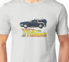 Nerd things - tardis delorean mash up Unisex T-Shirt