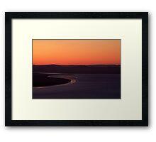 Wyndham Sunset,Bastion Lookout,Western Australia Framed Print
