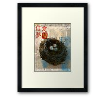 Love Trust Dream Fortune Framed Print