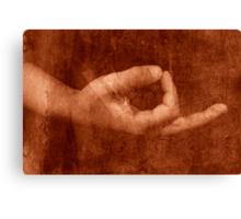 Ancient Meditation Canvas Print