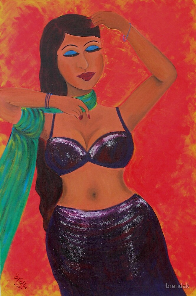 The Belly Dancer by brendak