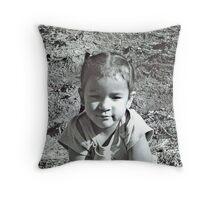 Silent Beauty... Throw Pillow