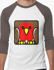 Robin Redbreast Men's Baseball ¾ T-Shirt