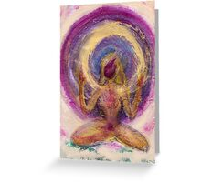 Abstract Enlightened Female Greeting Card