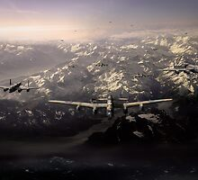 Target in sight: sinking the Tirpitz by Gary Eason + Flight Artworks