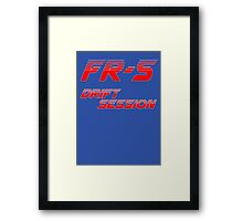 FR-S Drift Session Framed Print