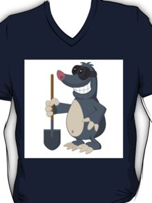 Funny cartoon mole T-Shirt