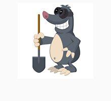 Funny cartoon mole Unisex T-Shirt