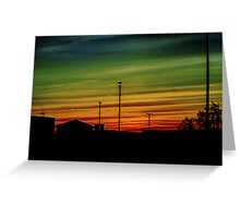 Sunrise Greeting Card