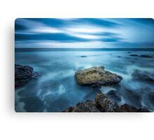 Atlantic ocean rocks Canvas Print
