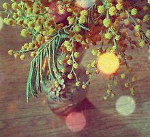 Vintage Mimosa by AnnArtshock