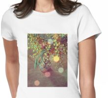 Vintage Mimosa Womens Fitted T-Shirt