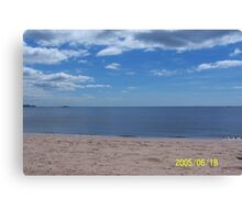 Earth,water,sky Canvas Print