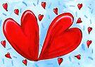 Two hearts. by John Douglas