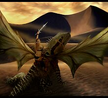 Dragon Rider by Cliff Vestergaard