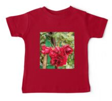 Wet red roses 3 Baby Tee