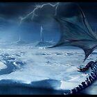 Dragon Rider 5 by Cliff Vestergaard