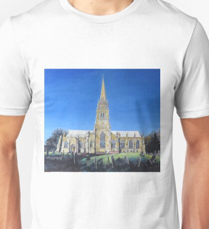 St Patrick's Church, Patrington, East Yorkshire, Churches, Jan Tomlinson, artyjan.com Unisex T-Shirt