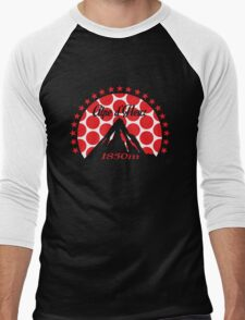 Alpe d'Huez (Red Polka Dot) Men's Baseball ¾ T-Shirt