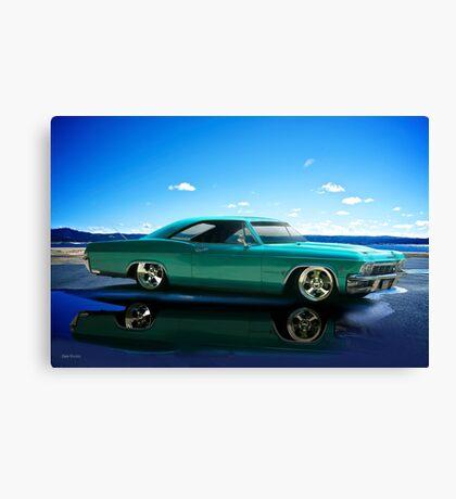 1963 Chevrolet Custom Impala Canvas Print