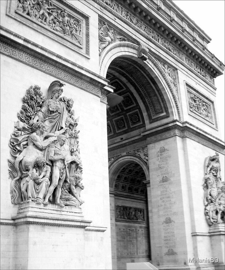Arc de Triomphe, Paris   by Melanie89