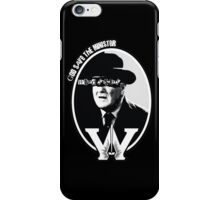 God Save the Minister iPhone Case/Skin