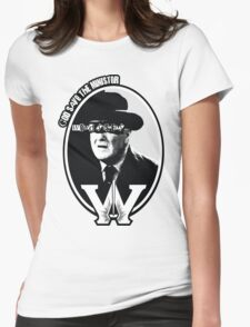 God Save the Minister Womens Fitted T-Shirt