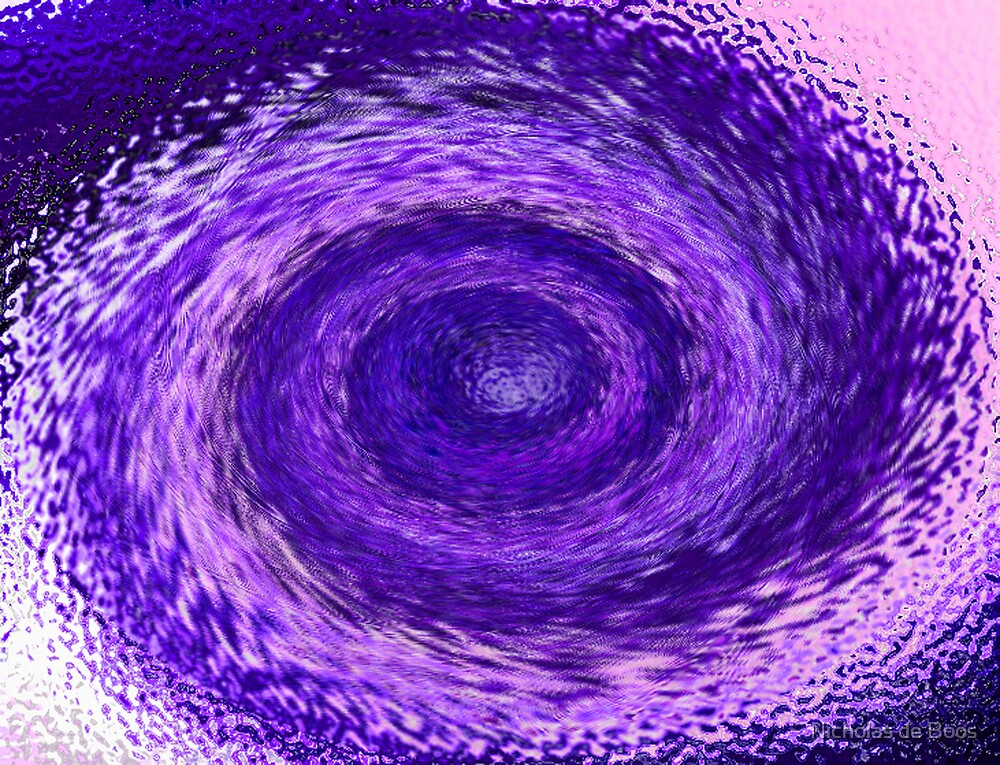 Purple Swirl by Nicholas de Boos