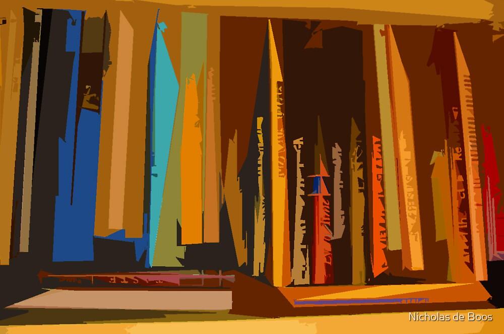Bookcase by Nick de Boos