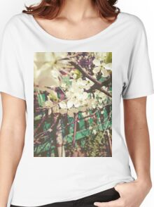 White Plum Blossoms 2 Women's Relaxed Fit T-Shirt