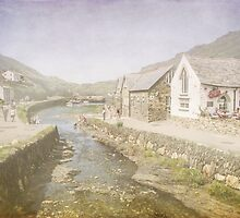 Boscastle summer by Lissywitch