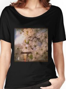 White Plum Blossoms 4 Women's Relaxed Fit T-Shirt