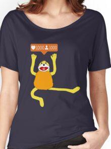 1000 Followers for Flat E! Women's Relaxed Fit T-Shirt