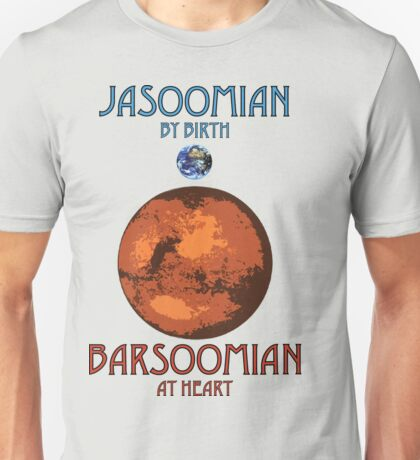Barsoomian At Heart Unisex T-Shirt