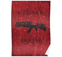 'Die Hard' Inspired Christmas Card Poster