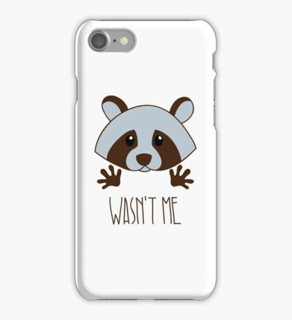 Little raccoon iPhone Case/Skin