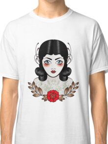 Flapper girl with tats Classic T-Shirt