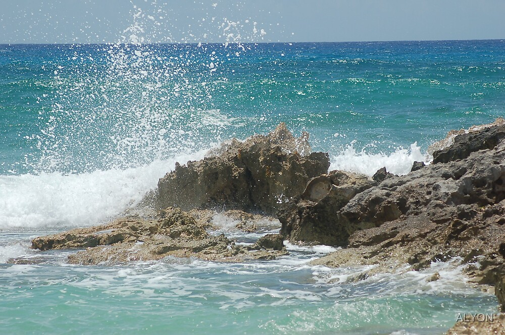 WAVES CRASHIN PART II by ALYON
