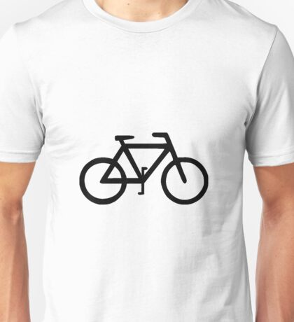 Bike Bicycle Cyclist Biker Unisex T-Shirt
